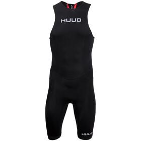 HUUB Essential Strój triathlonowy Zamek błyskawiczny z tyłu Mężczyźni, black/red